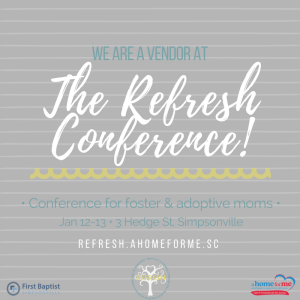 Refresh Conference - Graphic for Vendors